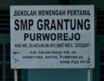 Daftar Lengkap SMP SWASTA Di Purworejo