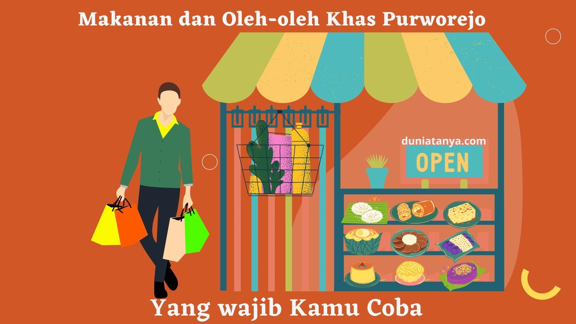 You are currently viewing Makanan dan Oleh-oleh Khas Purworejo yang wajib Kamu Coba