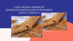Read more about the article Cara Mudah Membuat Jenang Krasikan Dari Purworejo ( Jawa Tengah )