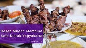 Read more about the article Resep Mudah Membuat Sate Klatak Yogyakarta