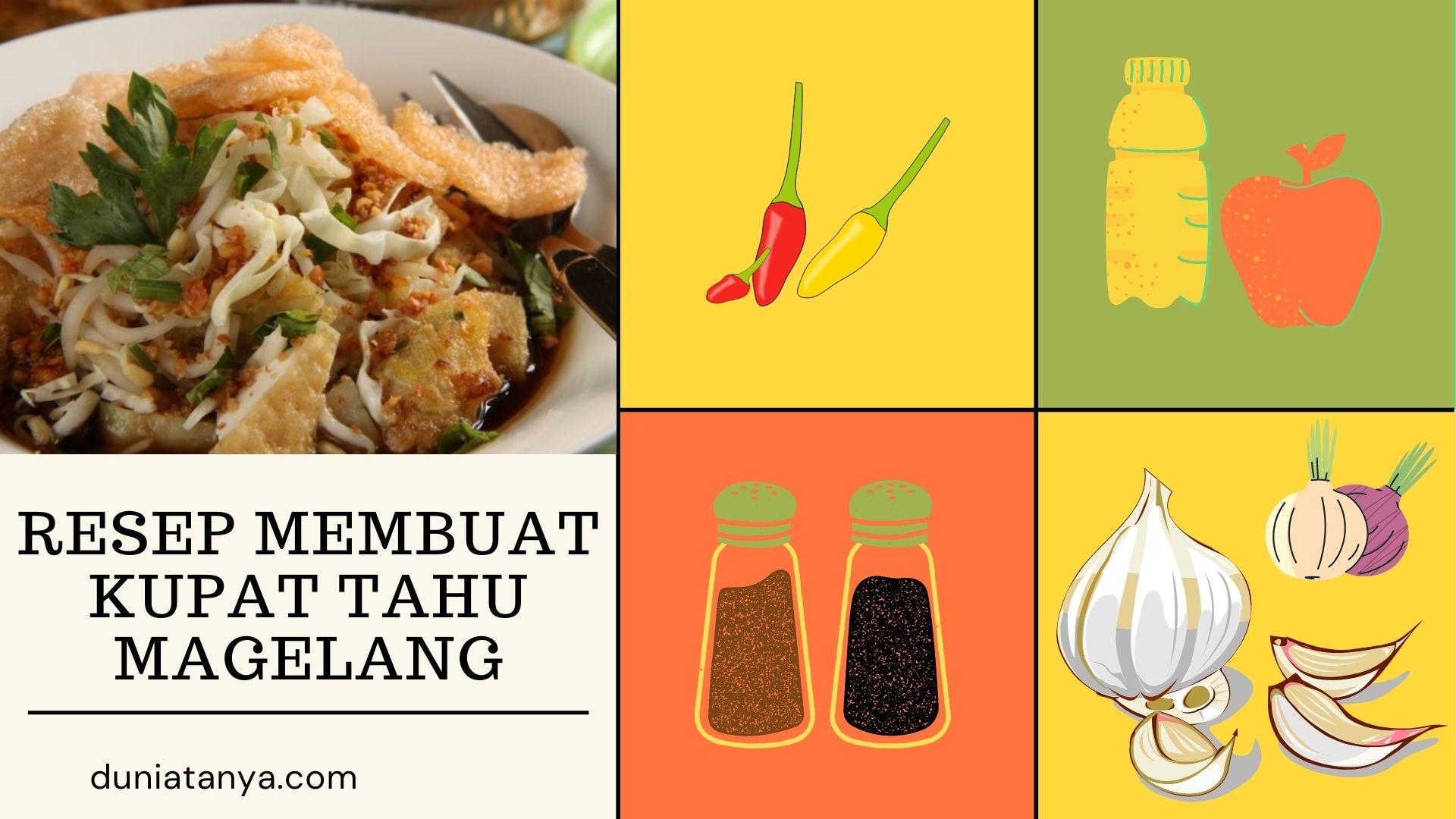 Read more about the article Resep Membuat Kupat Tahu Magelang