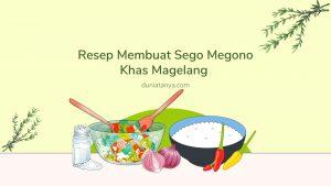 Read more about the article Resep Membuat Sego Megono Khas Magelang